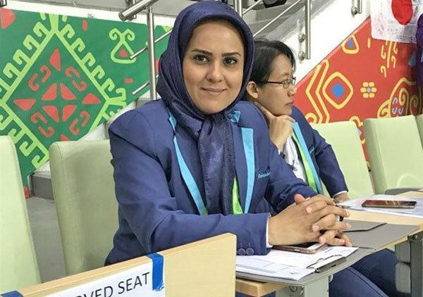 نظارت بانوی ایرانی بر تمام بازی های جام جهانی فوتبال ساحلی
