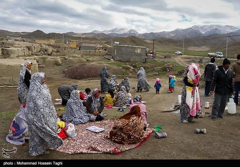 بازدید محسن رضایی از منطقه زلزله زده سفید سنگ خراسان رضوی