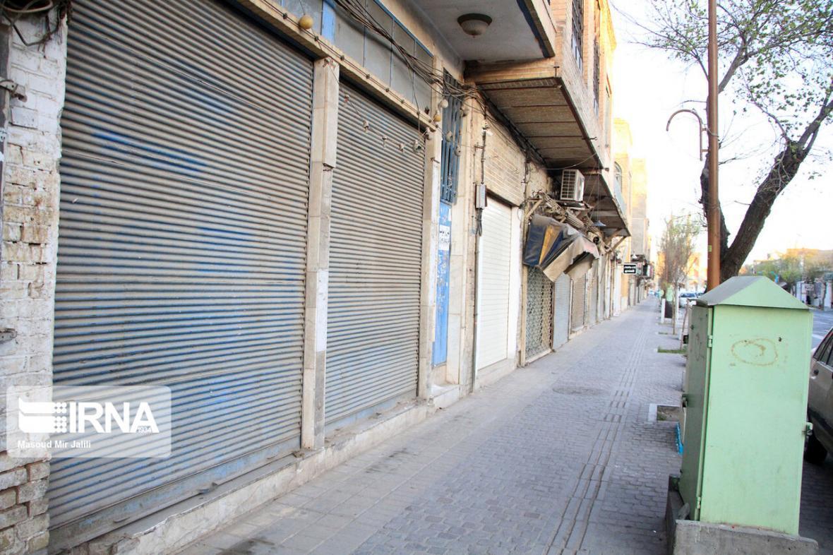 خبرنگاران فعالیت اصناف در آران وبیدگل محدود شد