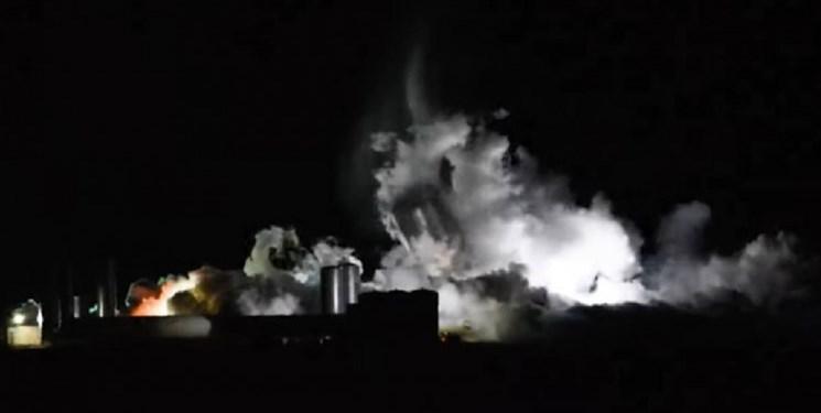 آزمایش نمونه اولیه فضاپیمای استارشیپ شکست خورد